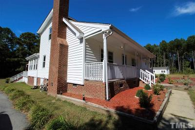 Knightdale Single Family Home For Sale: 404 Bethlehem Road