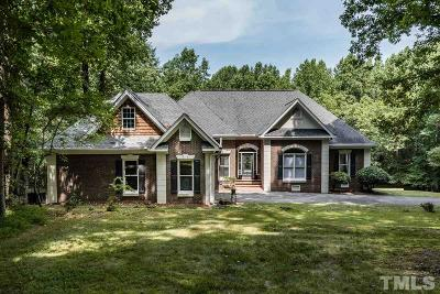 Franklinton NC Single Family Home Sold: $349,900