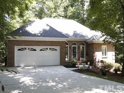 Apex Single Family Home For Sale: 1005 E Sterlington Place