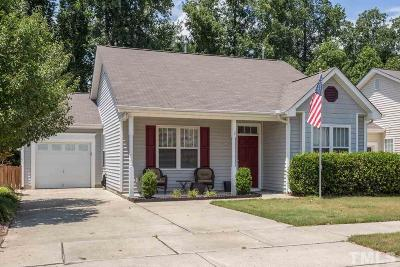 Apex Single Family Home Contingent: 1020 Shackleton Road