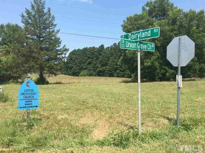 Orange County Residential Lots & Land For Sale: Dairyland Road