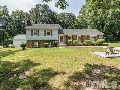 Durham County Single Family Home For Sale: 1803 Hideaway Lane