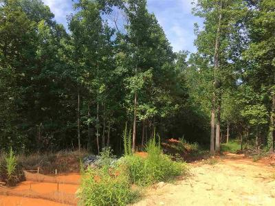 Chatham County Residential Lots & Land For Sale: 158 Owls Nest