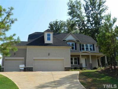 Clayton Single Family Home For Sale: 11 Leather Oak Trail
