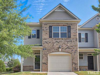 Cary Townhouse For Sale: 539 Panorama Park Place