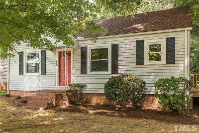 Durham County Single Family Home For Sale: 1003 E Club Boulevard
