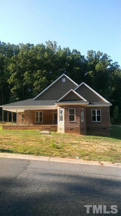 Raleigh NC Single Family Home For Sale: $395,000