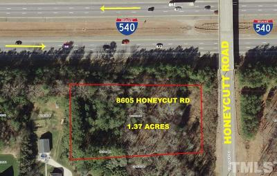 Wake County Residential Lots & Land For Sale: 8605 Honeycutt Road