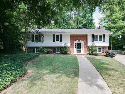 Raleigh NC Single Family Home For Sale: $335,000