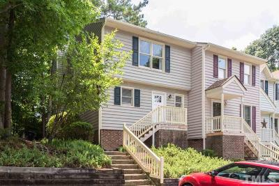 Raleigh NC Townhouse For Sale: $154,900