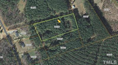 Bear Creek Residential Lots & Land For Sale: 13035 Siler City Glendon Road