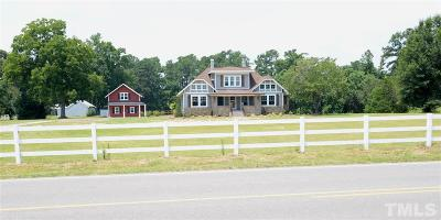 Johnston County Single Family Home Pending: 4420 Raleigh Road