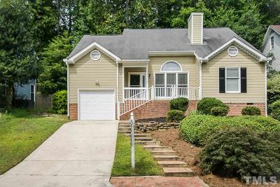 Cary Single Family Home Pending: 110 Tapestry Terrace