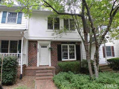 Carrboro Townhouse Contingent: 121 Westview Drive #102