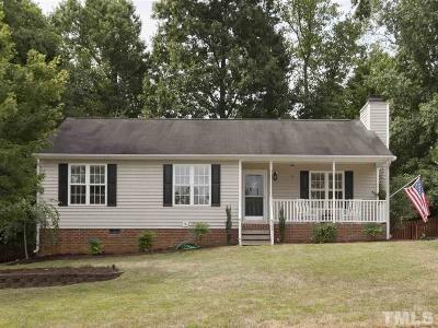 Holly Springs Single Family Home Contingent: 708 Stinson Avenue