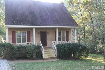 Holly Springs Single Family Home Pending: 7100 Wellsbee Place