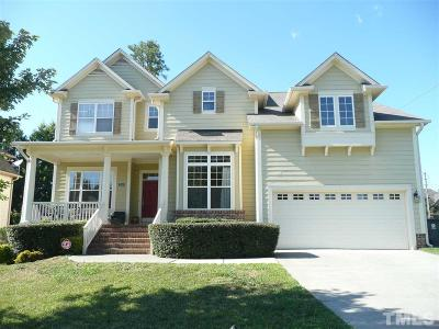 Morrisville Single Family Home For Sale: 210 Leacroft Way