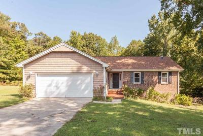 Holly Springs Single Family Home Contingent: 400 Avent Circle