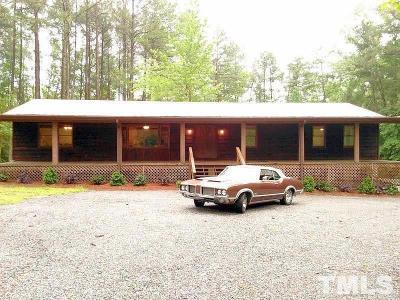 Chapel Hill Single Family Home For Sale: 696 Sam Jones Road