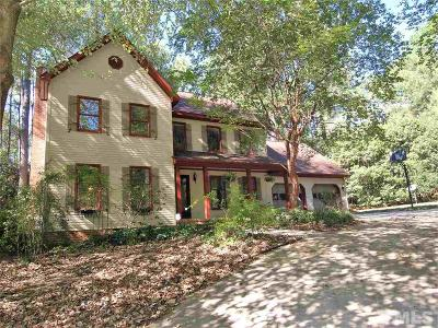 Cary Single Family Home For Sale: 202 Erskine Court