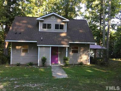 Manson NC Single Family Home Contingent: $179,900