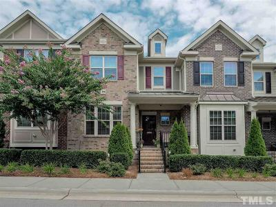 Cary NC Townhouse For Sale: $352,500