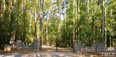 Wake County Residential Lots & Land For Sale: 4308 Graham Newton Road
