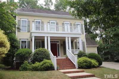 Southern Village Single Family Home For Sale: 124 Graylyn Drive