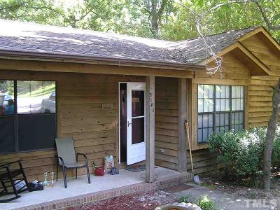 Sanford NC Single Family Home For Sale: $117,500