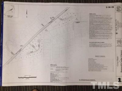 Wake County Residential Lots & Land For Sale: 2801 Barwell Road