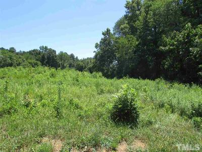 Siler City NC Residential Lots & Land For Sale: $94,000