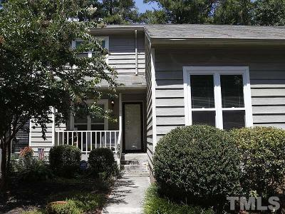 Cary Townhouse For Sale: 520 Applecross Drive