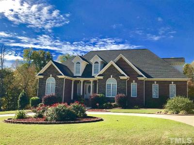 Clayton Single Family Home For Sale: 547 Christopher Drive