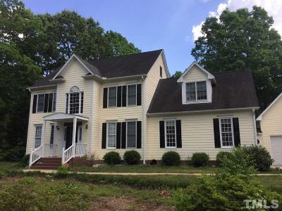 Apex Single Family Home For Sale: 4325 Belnap Drive