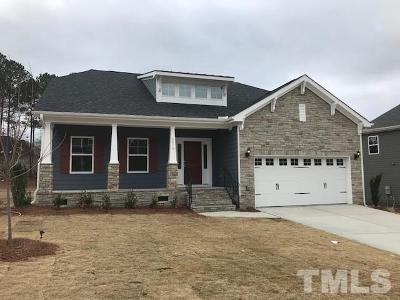 Knightdale Single Family Home For Sale: 8010 Peachtree Town Lane #Lot 39