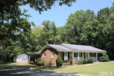 Durham Single Family Home Contingent: 3618 Snow Hill Road