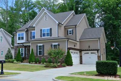 Apex Single Family Home For Sale: 907 Cambridge Hall Loop