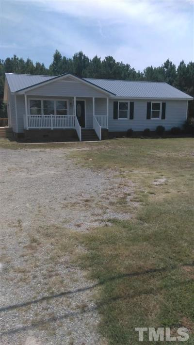 Single Family Home For Sale: 2140 N Nc 111 Highway