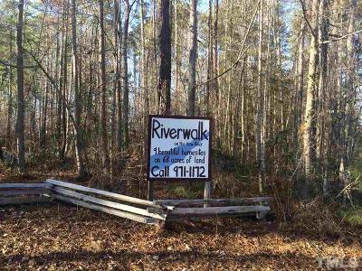 Chatham County Residential Lots & Land For Sale: 566 Riverwalk Trail