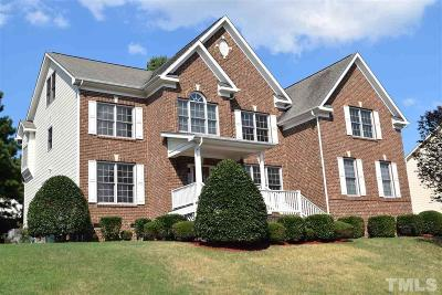 Apex Single Family Home For Sale: 1809 Charlion Downs Lane