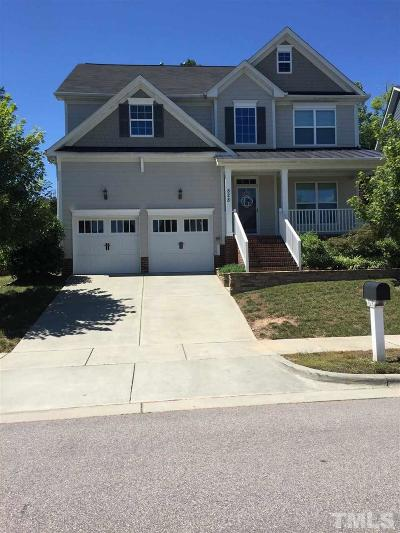 Cary Single Family Home Pending: 828 Vandalia Drive