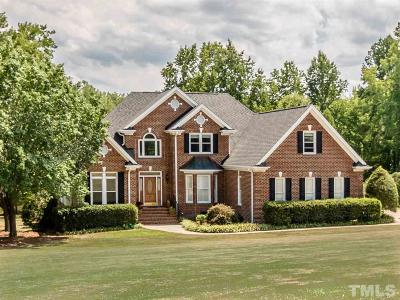 Apex Single Family Home Contingent: 7717 Jenks Road