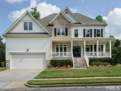 Cary Single Family Home For Sale: 1006 Dominion Hill Drive