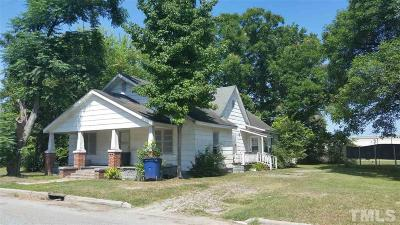 Single Family Home For Sale: 1010 Blount Street
