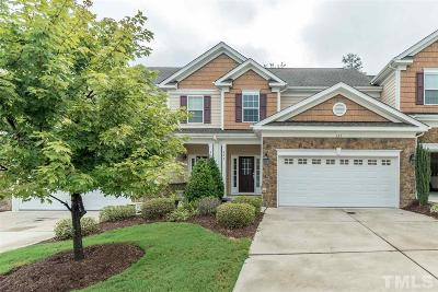Cary Townhouse For Sale: 622 Sealine Drive