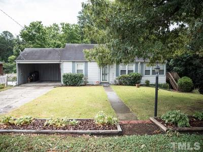 Sanford NC Single Family Home For Sale: $85,000