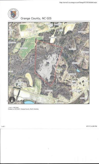Orange County Residential Lots & Land For Sale: Pentecost Road
