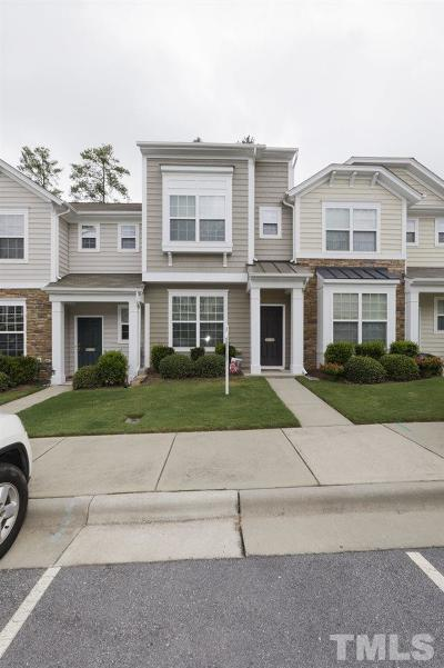 Morrisville Townhouse For Sale: 1811 Grace Point Road