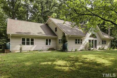 Chapel Hill Single Family Home For Sale: 2608 Whitfield Road