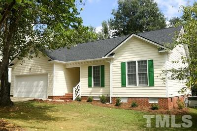 Raleigh Single Family Home Contingent: 4636 Forest Highland Drive